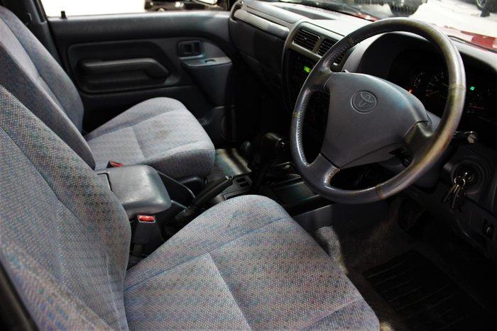 1996 Toyota Landcruiser Prado GXL VZJ95R 4X4 Red Pearl