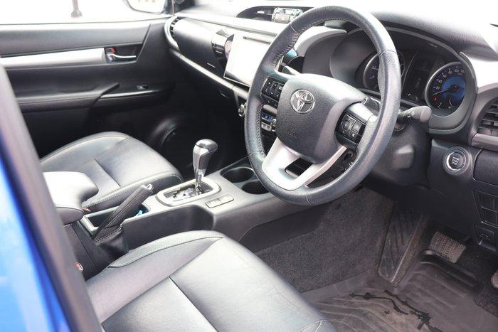 2016 Toyota Hilux SR5 GUN126R 4X4 Dual Range Nebula Blue