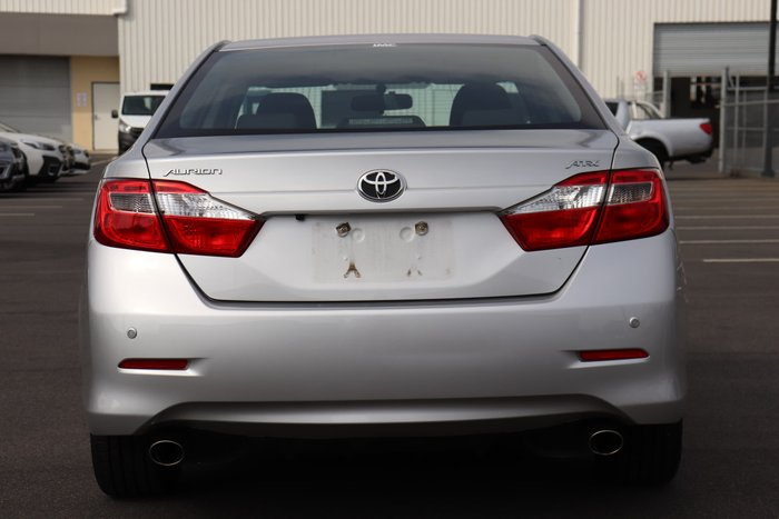 2017 Toyota Aurion AT-X GSV50R Silver Pearl