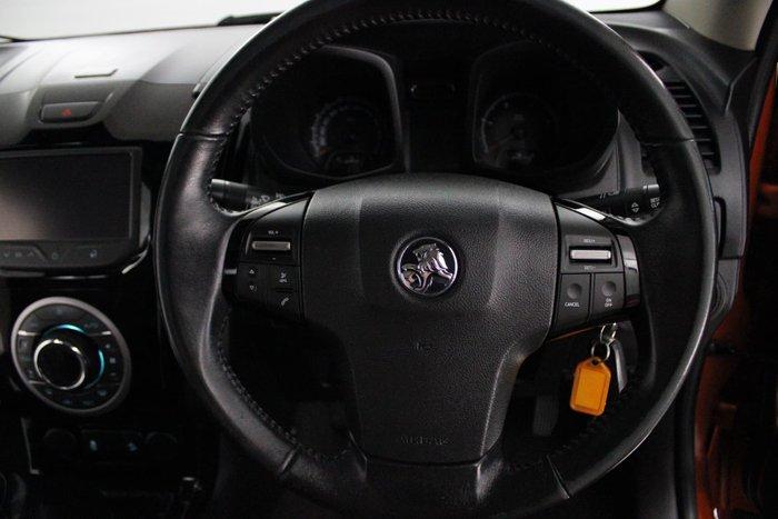 2015 Holden Colorado LTZ RG MY15 4X4 Dual Range Orange Rock