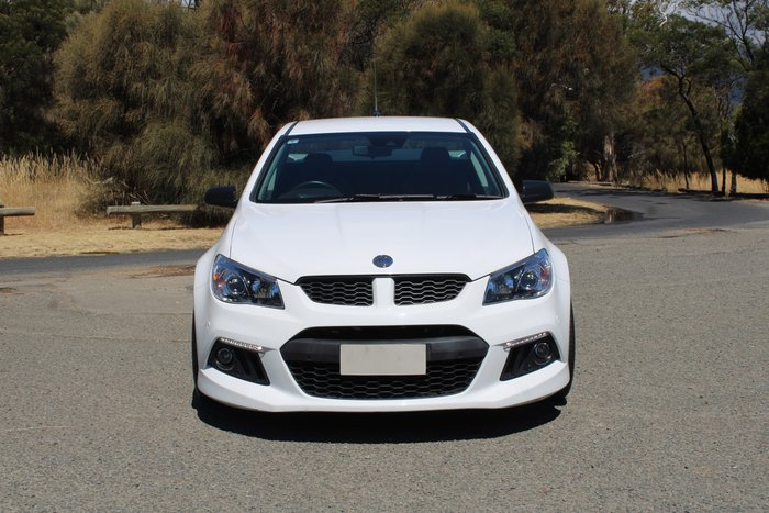 2014 Holden Special Vehicles Maloo R8 GEN-F MY14 Heron White