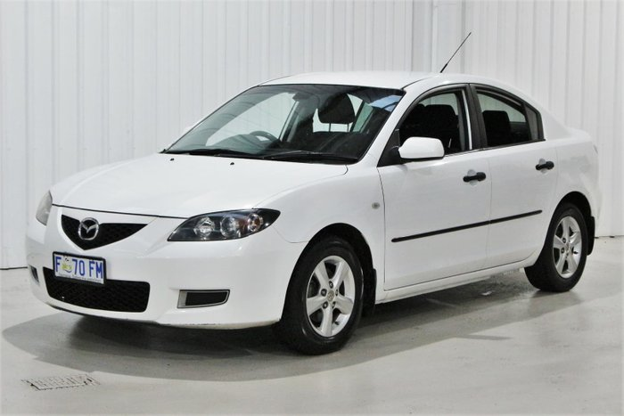 2008 Mazda 3 Neo Sport BK Series 2 MY08 White