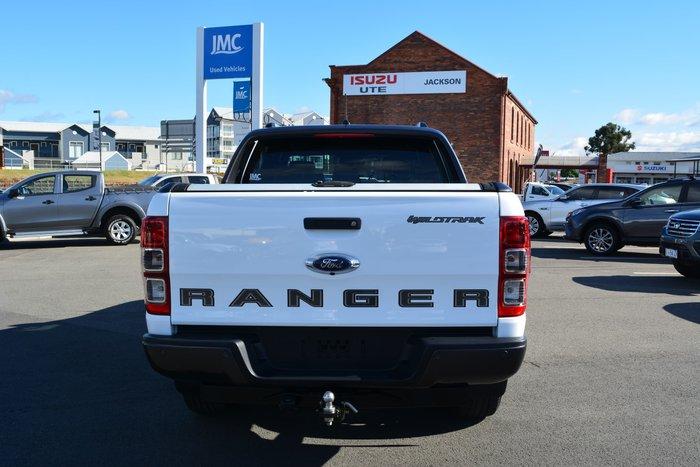 2018 Ford Ranger Wildtrak PX MkIII MY19 4X4 Dual Range Frozen White