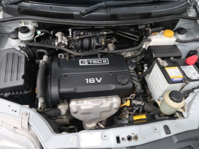2007 Holden Barina TK MY07 Mercury Silver