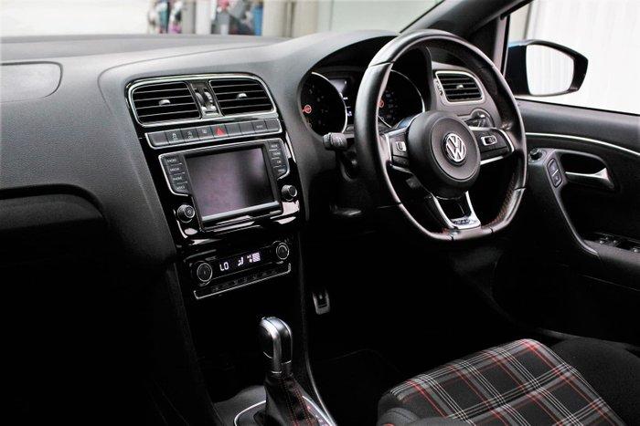 2017 Volkswagen Polo GTI 6R MY17 Blue Silk