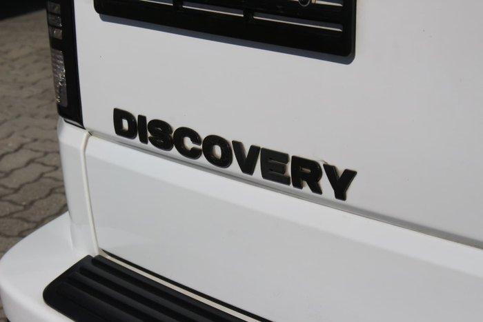 2015 Land Rover Discovery TDV6 Series 4 MY16 4X4 Dual Range White