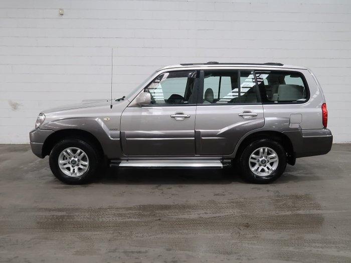2004 Hyundai Terracan HP MY05 4X4 Dual Range Warm Silver
