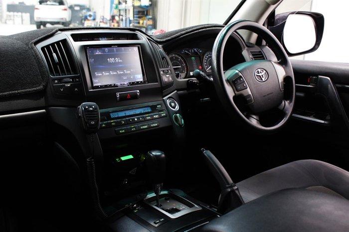 2011 Toyota Landcruiser GXL VDJ200R MY10 4X4 Constant Graphite