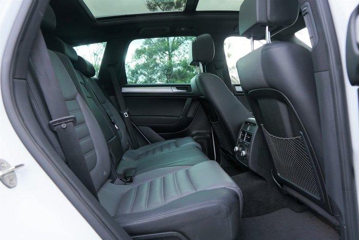 2016 Volkswagen Touareg V8 TDI R-Line 7P MY16 Four Wheel Drive Pure White