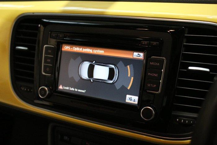 2013 Volkswagen Beetle 1L MY14 Saturn Yellow