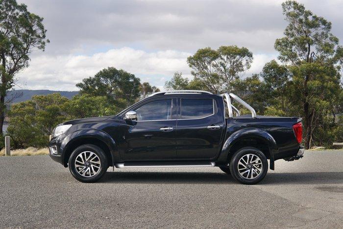 2018 Nissan Navara ST-X D23 Series 3 Cosmic Black