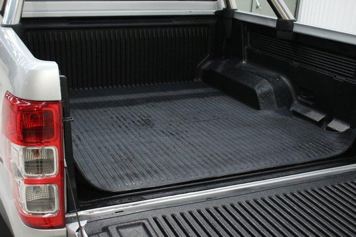 2018 Ford Ranger XLT PX MkII MY18 4X4 Dual Range Ingot Silver
