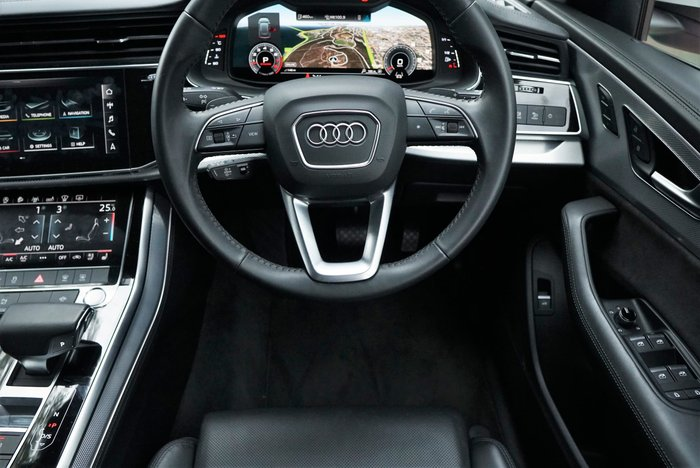 2019 Audi Q8 55 TFSI F1 MY19 Four Wheel Drive White