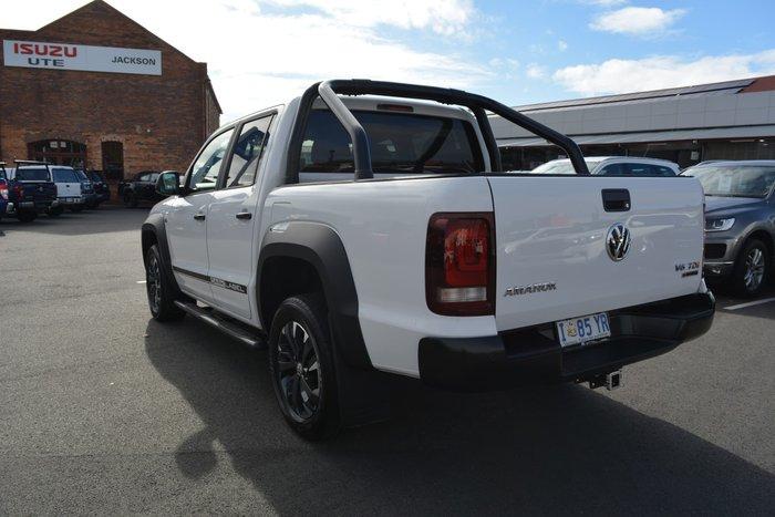 2018 Volkswagen Amarok TDI550 Dark Label 2H MY18 4X4 Constant Candy White