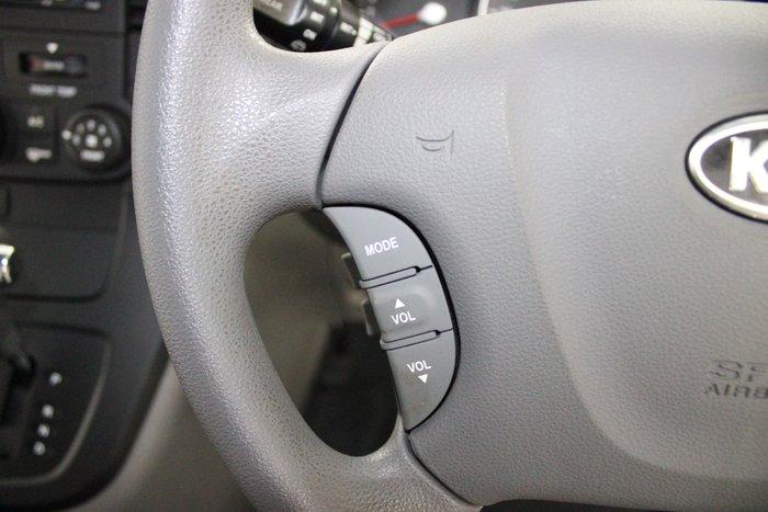 2012 Kia Grand Carnival S VQ MY13 Silver