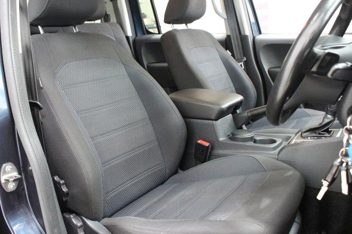 2017 Volkswagen Amarok TDI550 Highline 2H MY18 4X4 Constant Starlight Blue