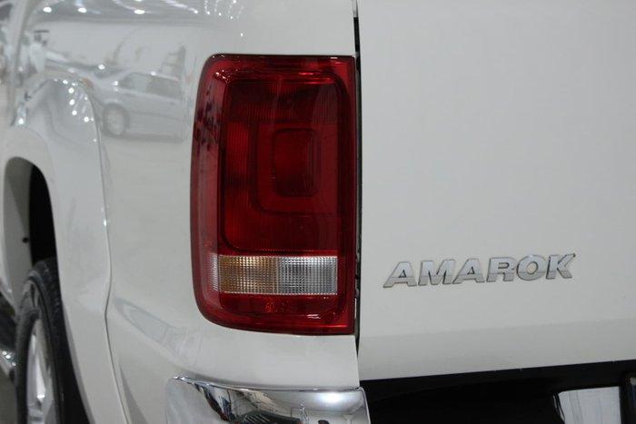 2016 Volkswagen Amarok TDI550 Highline 2H MY17 4X4 Constant Candy White
