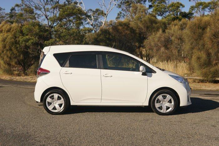 2015 Toyota Ractis (No Series) White
