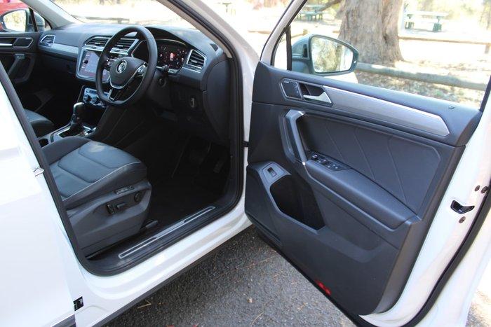 2019 Volkswagen Tiguan 110TSI Comfortline Allspace 5N MY19.5 Pure White
