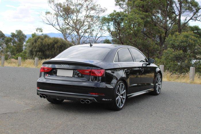 2016 Audi S3 8V MY16 Four Wheel Drive Black