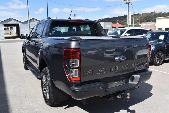 2018 Ford Ranger Wildtrak PX MkIII MY19 4X4 Dual Range Grey