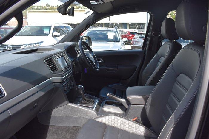 2019 Volkswagen Amarok TDI580 Ultimate 2H MY19 4X4 Constant Deep Black