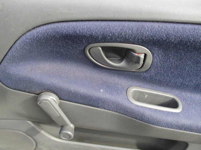 1997 Mitsubishi Mirage CE White