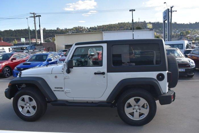 2017 Jeep Wrangler Sport JK MY17 4X4 Dual Range Bright White