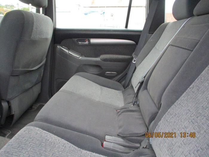2005 Toyota Landcruiser Prado GXL KZJ120R 4X4 Constant Silver Ash