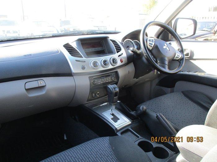 2012 Mitsubishi Triton GLX-R MN MY13 4X4 Dual Range Black