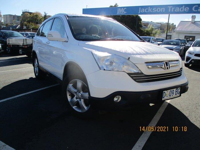 2009 Honda CR-V Sport RE MY07 4X4 On Demand Taffeta White