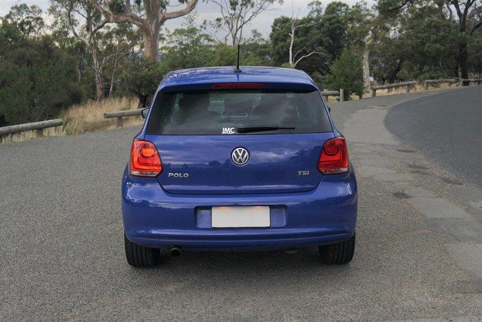 2012 Volkswagen Polo 77TSI Comfortline 6R MY12.5 Ocean Blue