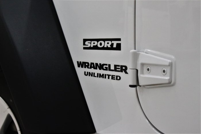 2012 Jeep Wrangler Unlimited Sport JK MY12 4X4 Bright White