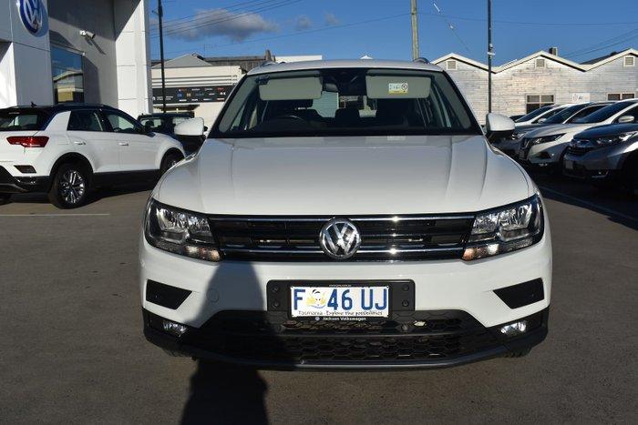 2018 Volkswagen Tiguan 110TSI Comfortline 5N MY18 Pure White