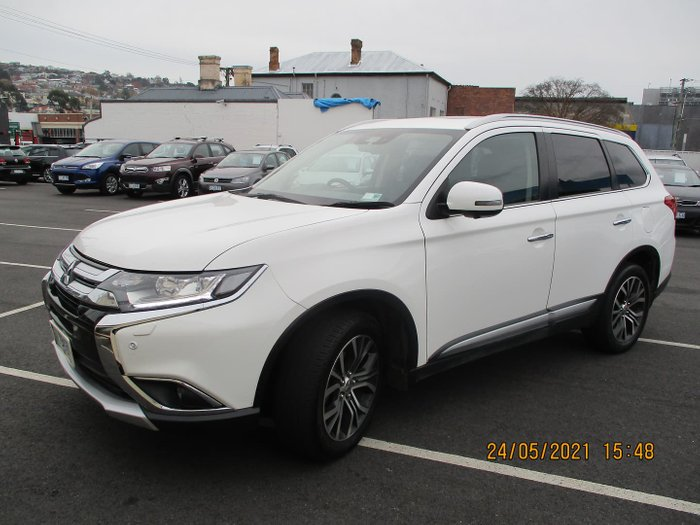 2016 Mitsubishi Outlander Exceed ZK MY16 4X4 On Demand White