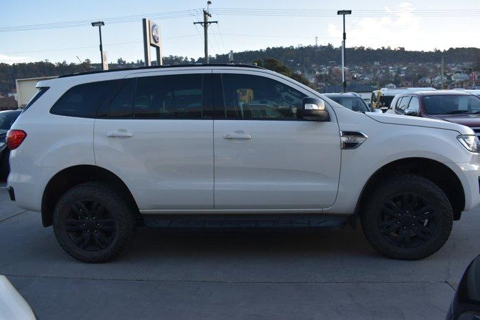 2015 Ford Everest Trend UA 4X4 Dual Range Cool White