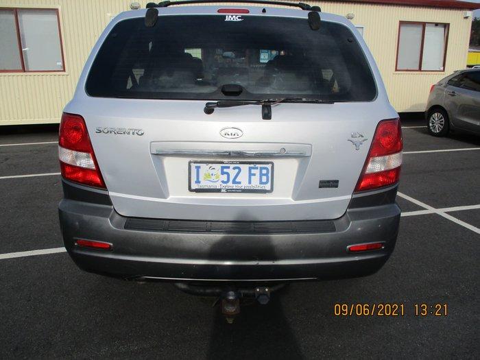2005 Kia Sorento EX BL MY05 4X4 Dual Range Diamond Silver