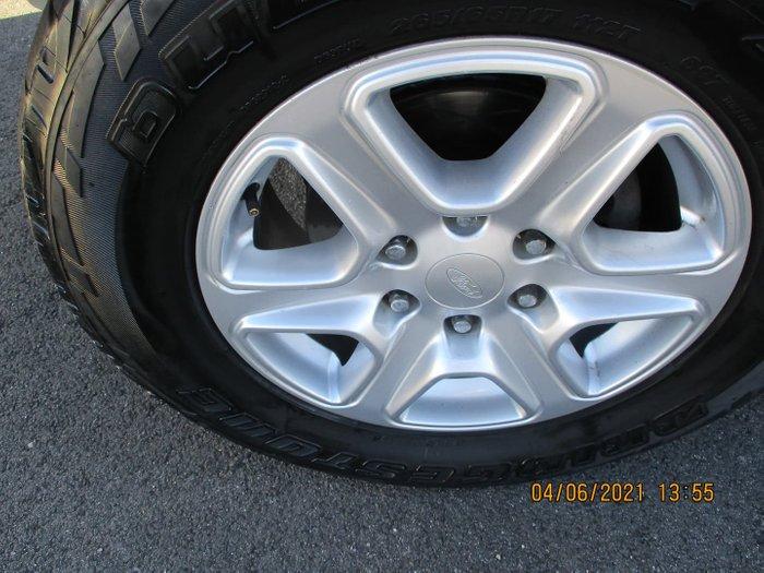 2013 Ford Ranger XLT PX 4X4 Dual Range Metropolitan Grey