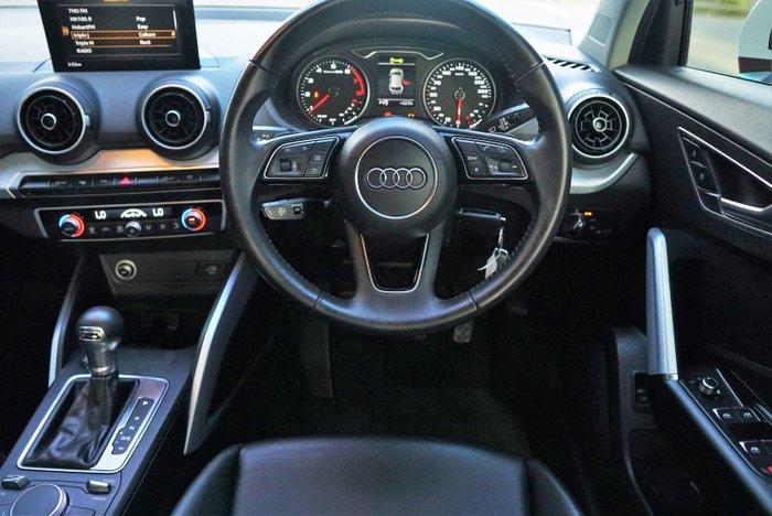 2017 Audi Q2 sport GA MY18 Four Wheel Drive White