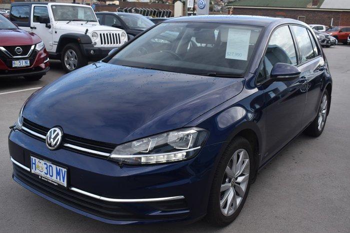2018 Volkswagen Golf 110TSI Comfortline 7.5 MY18 Atlantic Blue