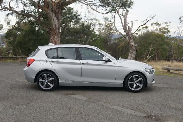 2014 BMW 1 Series 118d F20 MY14 Glacier Silver