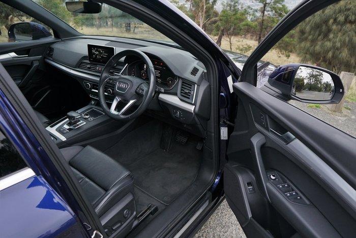 2017 Audi Q5 TDI sport FY MY18 4X4 On Demand Blue