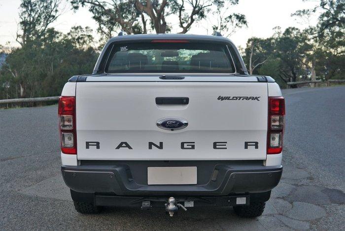 2018 Ford Ranger Wildtrak PX MkII MY18 4X4 Dual Range Frozen White