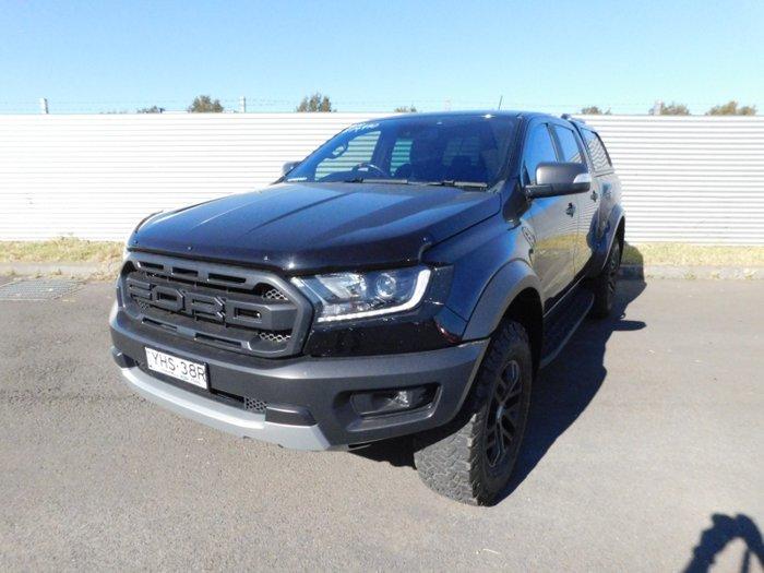 2019 Ford Ranger RAPTOR 2. (4x4)DOUBLE DTT4 PX MKIII MY19 Black