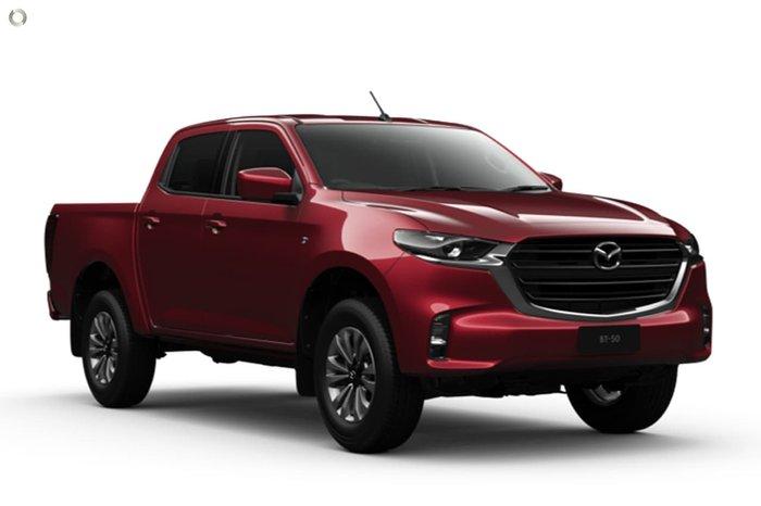 2020 Mazda BT-50 XT TF Red