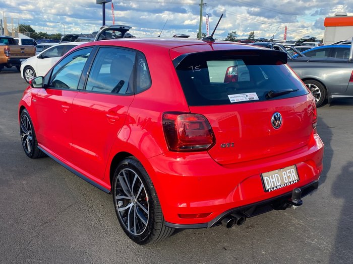 2016 Volkswagen Polo GTI 6R MY16 Flash Red