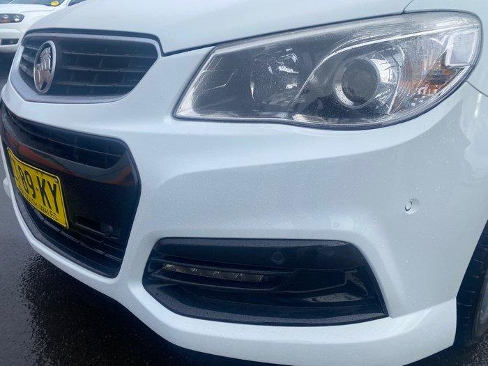 2015 Holden Ute SV6 VF MY15 Heron White