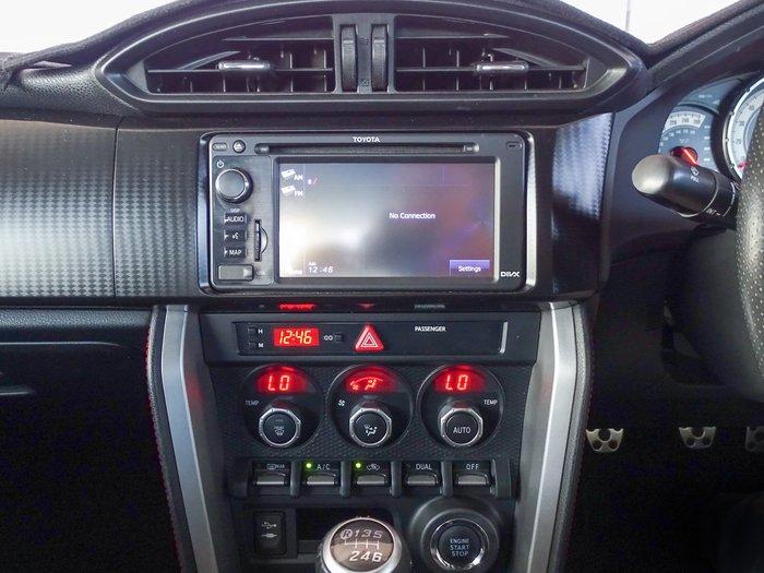 2012 Toyota 86 GTS ZN6 Pegasus White