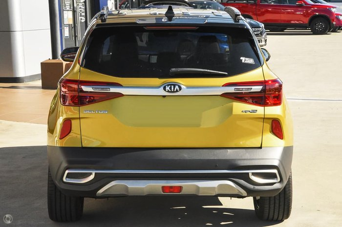 2020 Kia Seltos GT-Line SP2 MY21 AWD Starbright Yellow