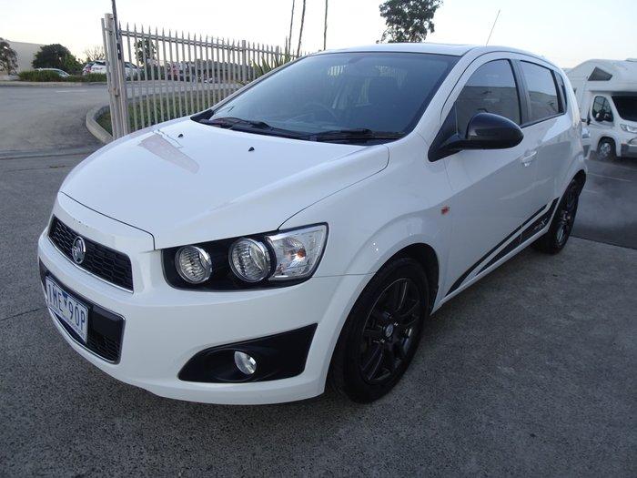 2015 Holden Barina X TM MY16 Summit White